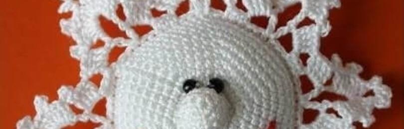 Украшаем дом к Новому году: вяжем красивые снежинки крючком