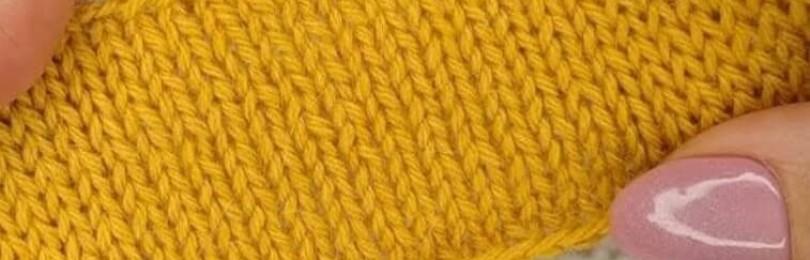Эластичные петли спицами: несколько простых и эффектных способов
