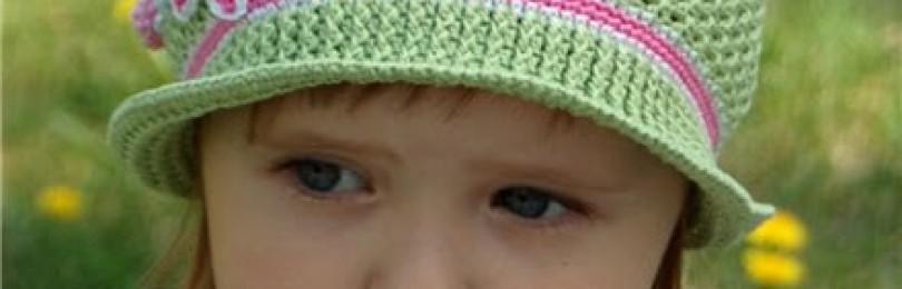 15 моделей детских шляпок вязаных крючком со схемами, описанием и видео МК