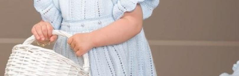9 моделей платья крючком для девочки