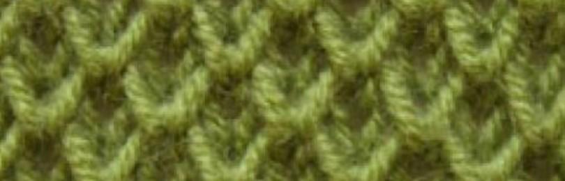 Узор соты спицами – 10 вариантов выполнения со схемами, описанием, видео мк