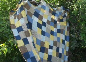 5 вариантов пледов из старых свитеров своими руками с фото и описанием