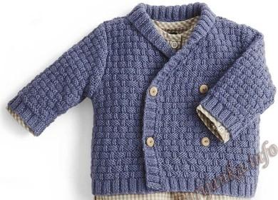 Детское пальто: 6 простых и оригинальных моделей спицами