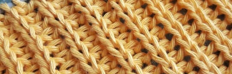 Секреты вязания: полупатентная резинка