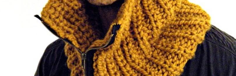 Мужская манишка крючком — описание и МК для начинающих