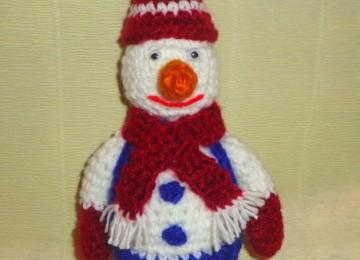 Новогодние игрушки вязаные крючком – снеговик, колокольчик, шишка, конфетка, ёлочка