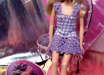 Одежда для барби – вяжем всё для любимой куклы, схемы, описание, видео МК