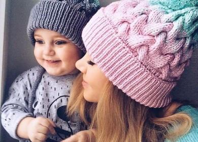 На пике моды: вязаная шапка «Ланаголд» от «Марк и Мари»