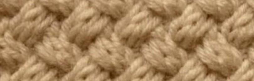 Узор «Плетенка» спицами — 13 вариантов выполнения со схемами, описанием и видео мк