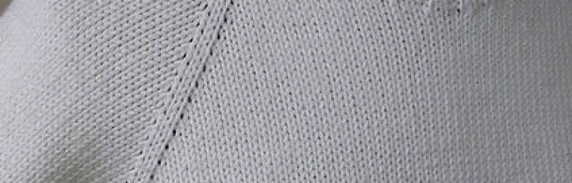 Вязание реглана спицами сверху модели со схемами