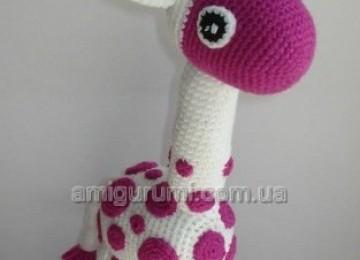 6 вариантов жирафа вязаного крючком со схемами, описанием и видео мк