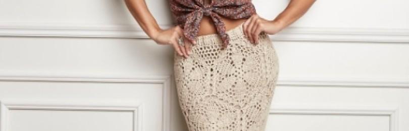 20 моделей летних юбок вязаных крючком со схемами, описанием и видео МК