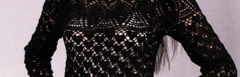 Принципы вязания круглой кокетки крючком с описанием и схемами: 12 моделей одежды для девочек и женщин на основе круглой кокетки