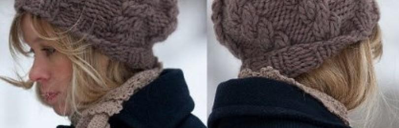 Объемные вязаные шапочки – 6 моделей с описанием, схемами и МК
