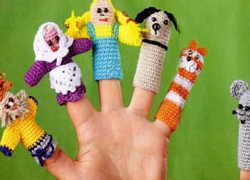 Вязаные куклы крючком со схемами и описанием