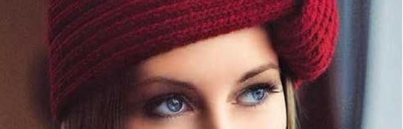 10 шапок для женщин спицами с описанием, схемами и видео МК