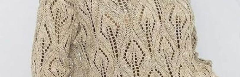 Нежная и воздушная ажурная вязка спицами: 9 чудесных узоров