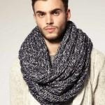 Снуд — практичный и стильный мужской шарф