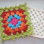 Бабушкин квадрат крючком и схемы для пледов для вашего творчества