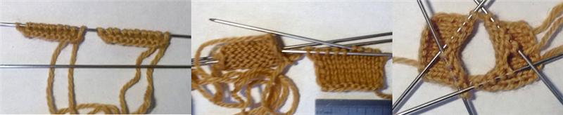 вязанная обезьянка спицами 15