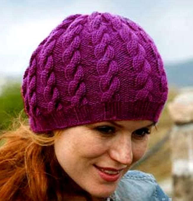 вязаные шапки 1