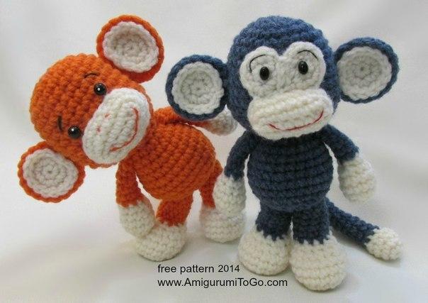 обезьянка крючком 11