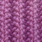 Описание схемы вязания спицами узора английская резинка