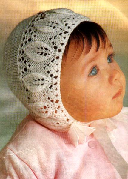 шапочка для новорожденного 1