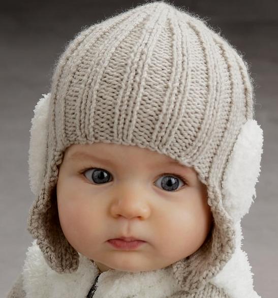 шапочка для новорожденного 11
