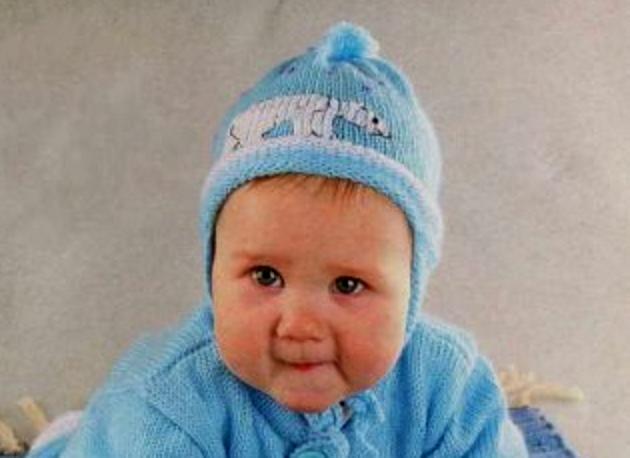 шапочка для новорожденного 13