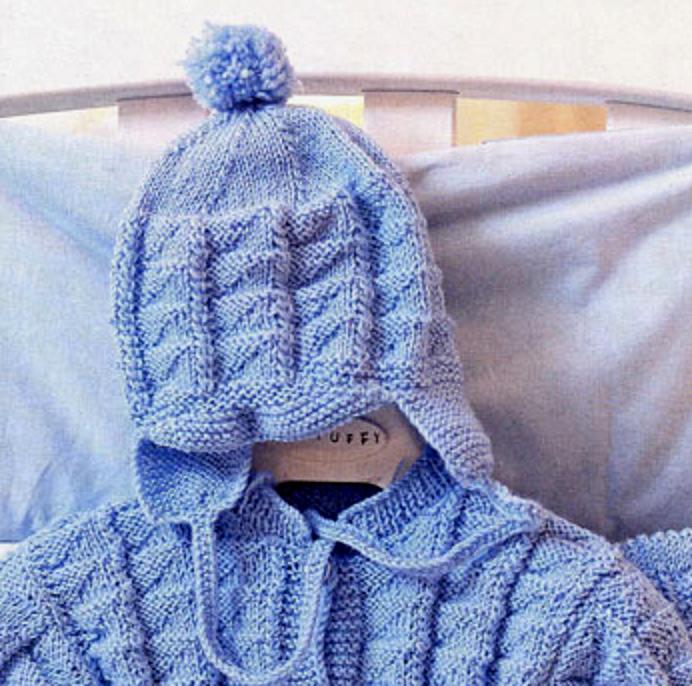 шапочка для новорожденного 2