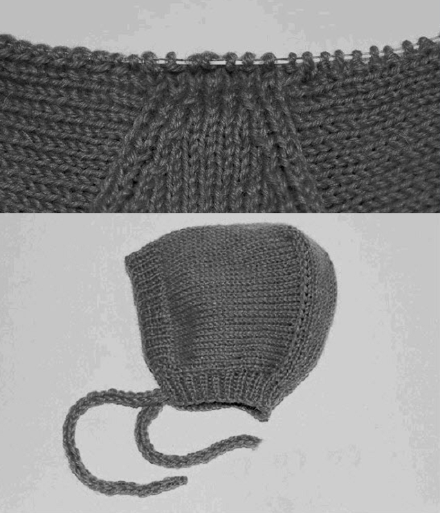 шапочка для новорожденного 3