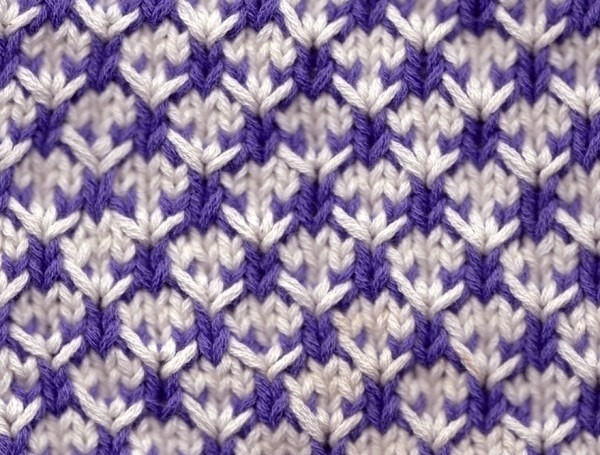 двухцветные узоры 2