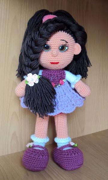 вязаные куклы с описанием и схемами