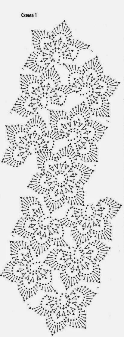 ленточное кружево юбка 19