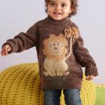 Вязание свитера спицами для девочки с описанием и схемами