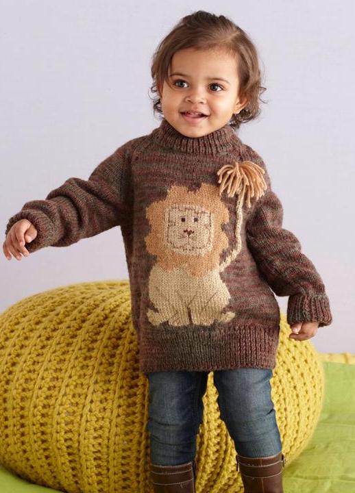 свитер для девочки 1