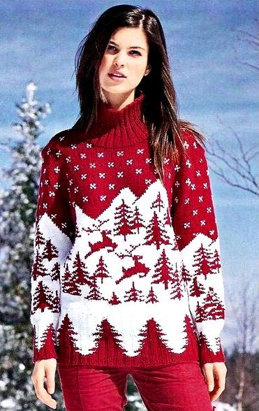 свитер для девочки 4