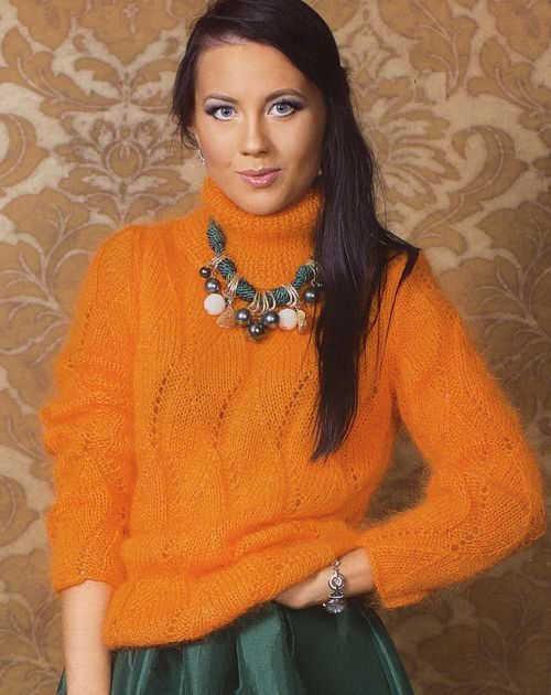 красивые схемы вязание свитера