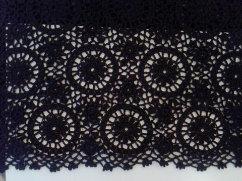 черная кружевная юбка 2