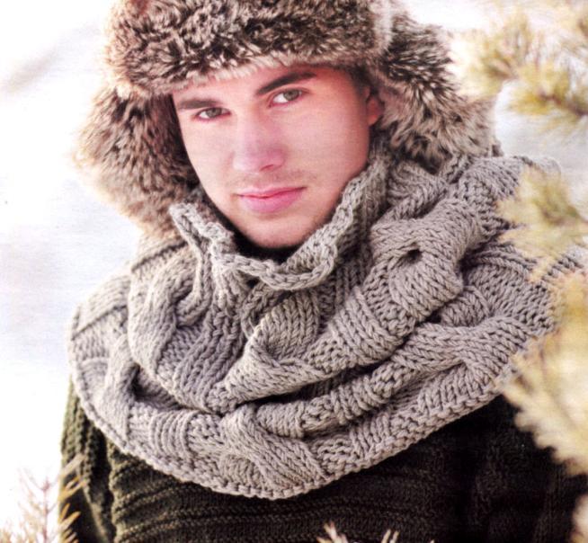 шарф мужской 3