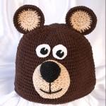 Вязаная шапочка для новорожденного с описанием