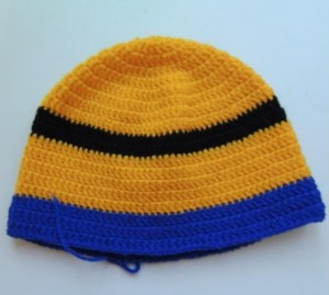 шапка миньон 4