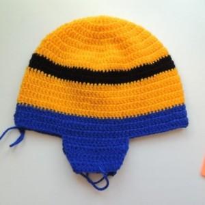 шапка миньон 8