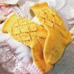 Как вязать детские носки спицами по схемам и описаниям