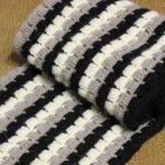 Мужские шарфы крючком — 5 оригинальных моделей с описанием