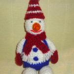 Новогодние игрушки вязаные крючком — снеговик, колокольчик, шишка, конфетка, ёлочка