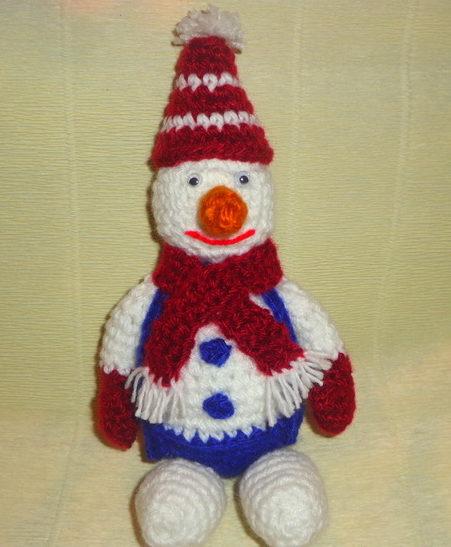 снеговик 18
