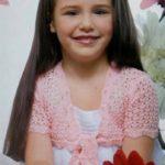 Вяжем спицами красивое болеро для девочки – 3 модели со схемы и описание