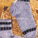 Вязание мужских носков крючком – описание и видео МК